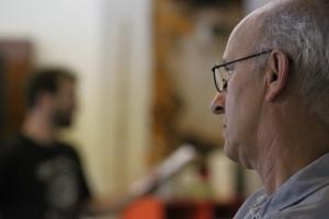 Director Richard Garner in rehearsal