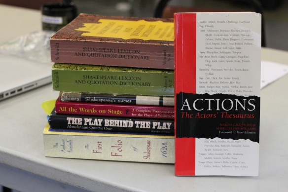 Resource material for our text -- and an invitation to launch into the action of the play.