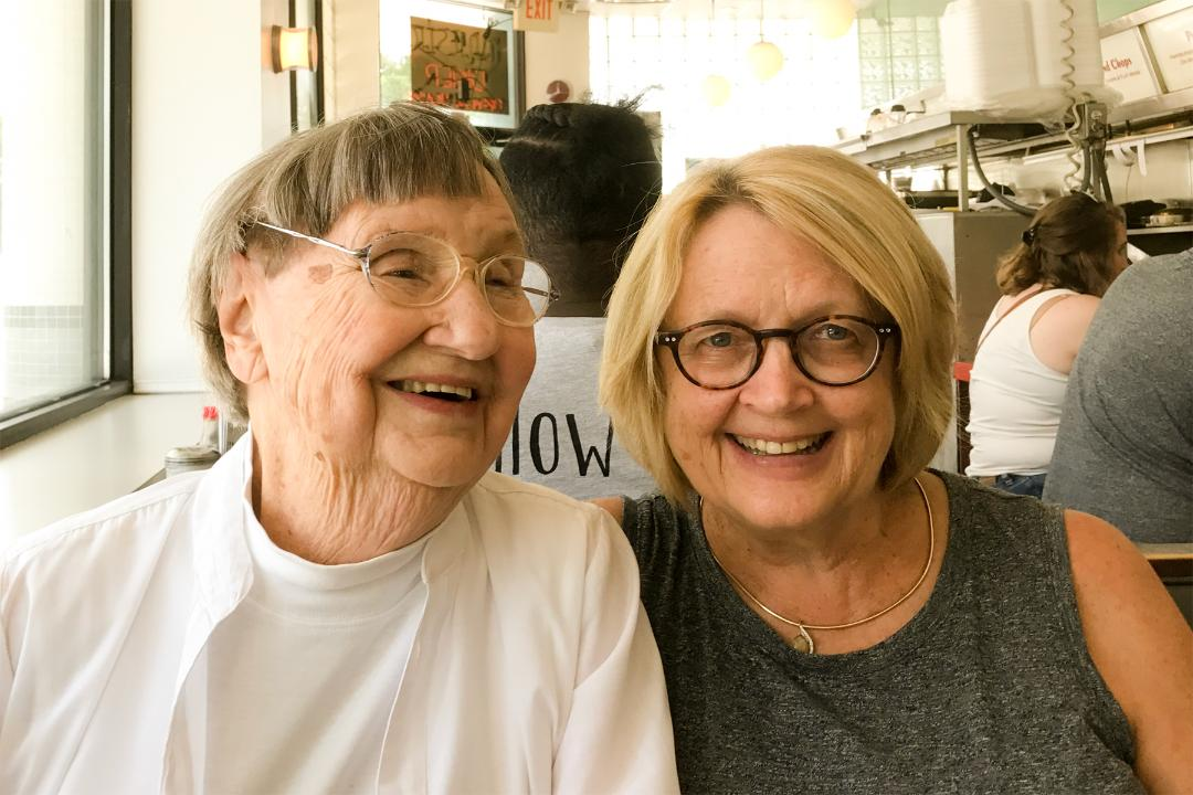 June Sparks and Andrea Sparks, Majestic Diner, 2018
